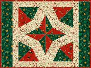 12″ North Star template and pattern – Gateway Quilts & Stuff : north star quilt block - Adamdwight.com