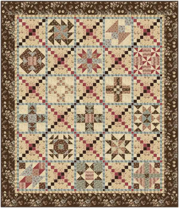 Southern Vintage Quilt – Pattern – Gateway Quilts & Stuff : southern quilts - Adamdwight.com